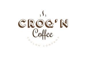 Logo Croq'N Coffee