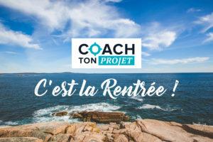 Rentrée 2020 par Coach Ton Projet